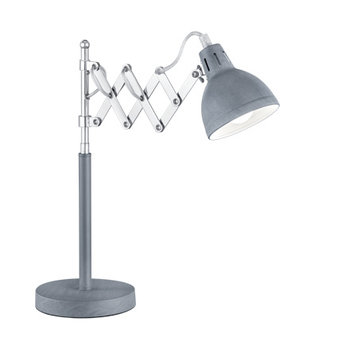 Reality SCISSOR betonlook tafellamp