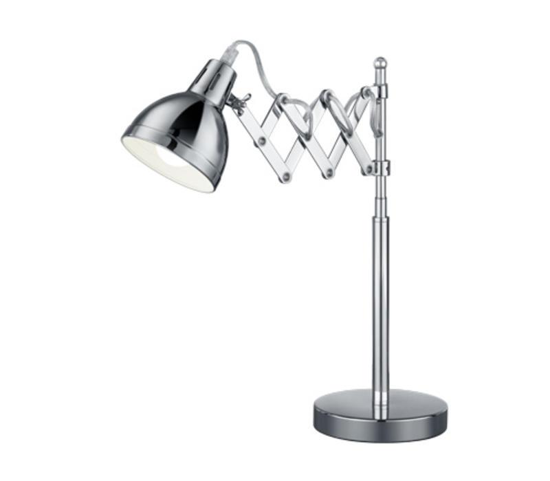 SCISSOR chroom tafellamp