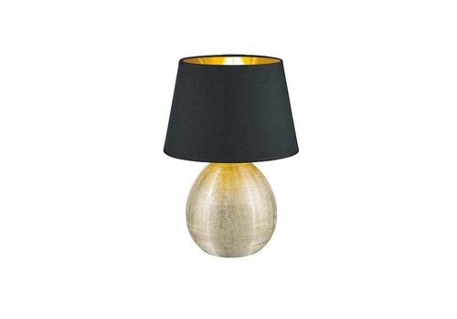 Reality LUXOR Zwart tafellamp