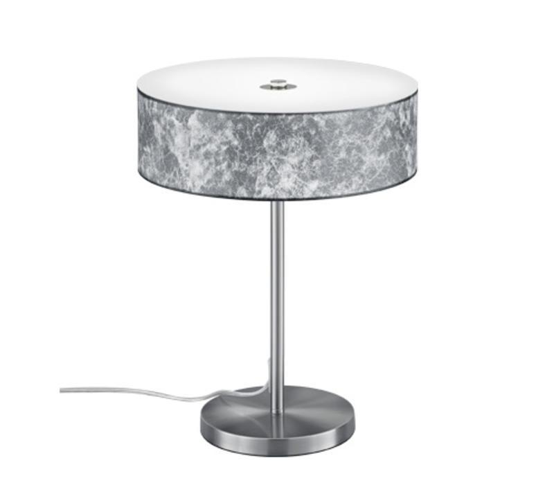 Lugano ZILVER tafellamp