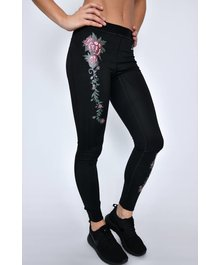 URBAN ROSE Active Legging Black