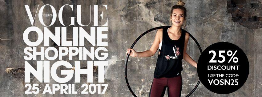 Vogue Online Shopping Night; 25% korting!