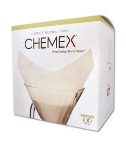Chemex Filters 6-8 Kops - Voorgevouwen - 100 Stuks (FS100)