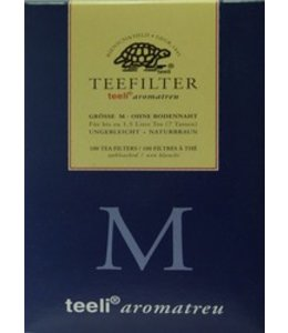 La Via del Tè | Thee-filterzakjes M 100 stuks