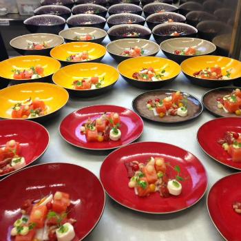 De heerlijke gerechten bij Restaurant de Gevangenpoort