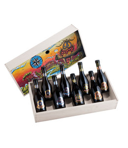 Gjulia | Giftbox art collection 8 flessen 33cl