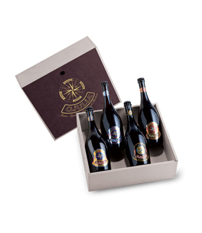 Gjulia | Giftbox 4 flessen 75cl