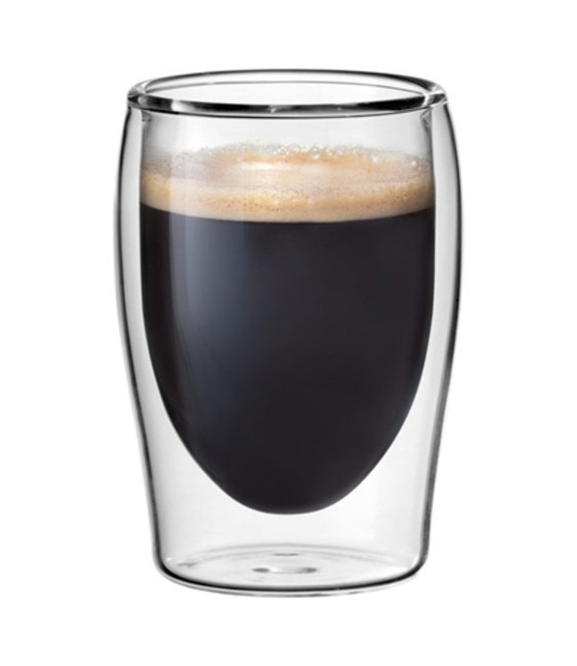 Scanpart   espresso thermo glazen 2 stuks 8cl
