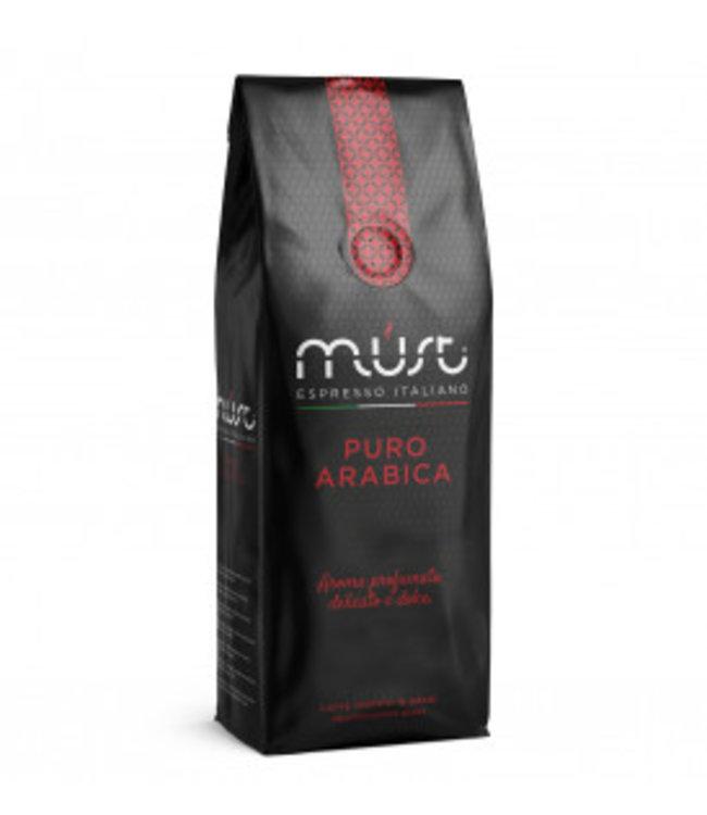 Must Espresso Italiano Koffiebonen   Puro Arabica 1KG