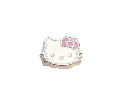 Floating Charms. Floating charm hello kitty voor de memory locket