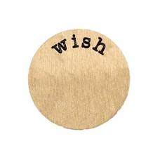 Locket Disks Floating locket disk wish goud