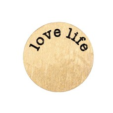 Locket Disks Floating locket disk love life goud