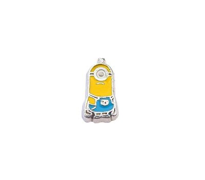 Floating Charms Floating charm one eyed minion voor de memory locket