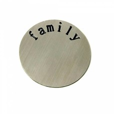 Floating locket  discs Memory locket disk family zilver