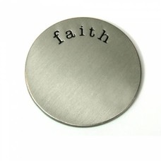 Floating locket  discs Memory locket disk faith zilver