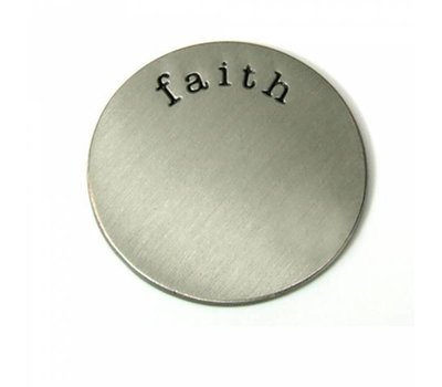 Floating locket  discs Memory locket disk faith zilver