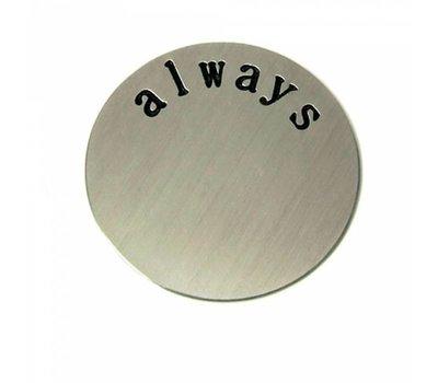 Locket Disks Floating locket disk always zilver