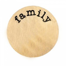 Locket Disks Floating locket disk family goud