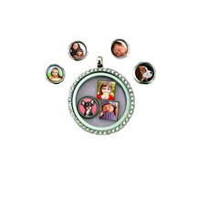 Floating Charms Foto Charm Rond