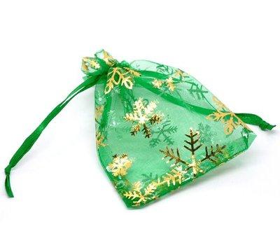Kerstzakje groen