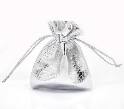 cadeauzakje zilver