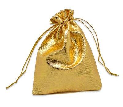 cadeauzakje goud