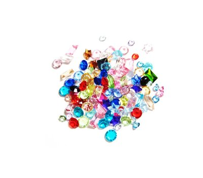 Floating Charms Memory Crystals plus minus 12 stuks