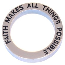 Floating locket  discs Memory locket open disk faith zilver large