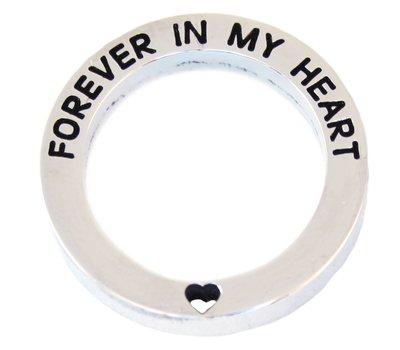 Locket Disks Floating locket open disk forever in my heart