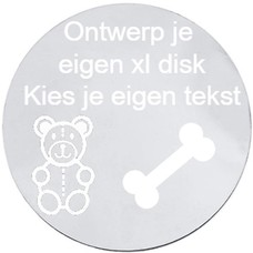 Locket Disks Ontwerp je eigen Disk XLarge