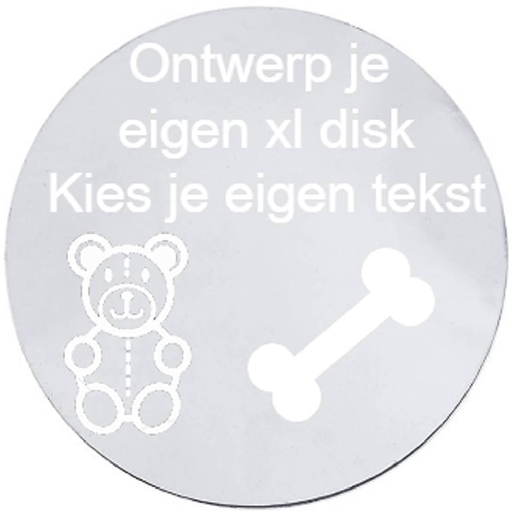 Locket disks ontwerp je eigen disk xlarge shoppe for Ontwerp je eigen kantoor