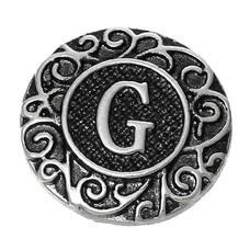 Clicks / Chunks Click letter G zilver