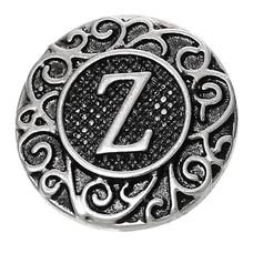 Clicks en Chunks | Click letter Z zilver