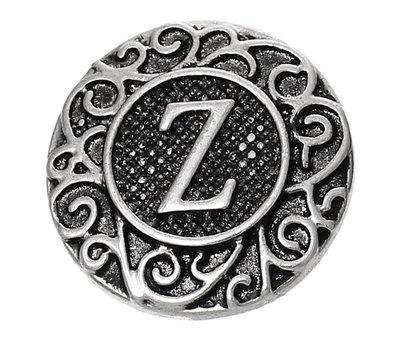 Clicks en Chunks   Click letter Z zilver