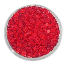Clicks / Chunks Click bling rood zilver