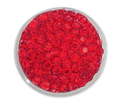 Clicks en Chunks | Click bling rood zilver