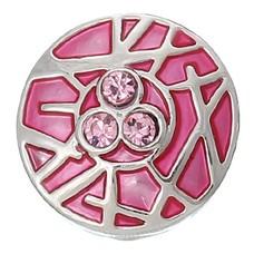 Clicks / Chunks Click bamboo roze zilver