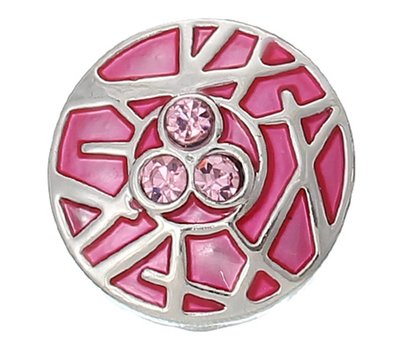 Clicks en Chunks | Click bamboo roze zilver