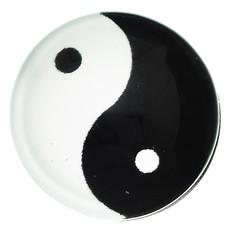 Clicks en Chunks | Click yin yang zilver