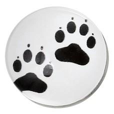 Clicks en Chunks | Click kattenpootjes zilver