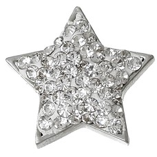 Clicks / Chunks Click star crystals zilver