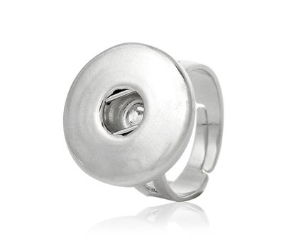 Clicks Sieraden Clicks verstelbare ring zilver
