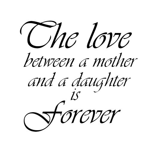 Love Between Mother Daughter Click Shoppe