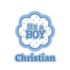 Clicks / Chunks Kies je naam Its a boy Click
