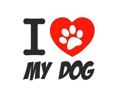 Clicks / Chunks I love my dog click