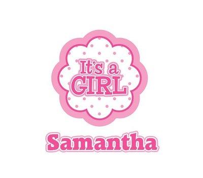 Clicks / Chunks Kies je naam Its a girl click