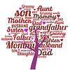 Clicks / Chunks Family Tree Paars click