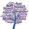 Clicks / Chunks Family Tree Blauw click