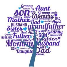Clicks en Chunks | Family Tree Blauw click