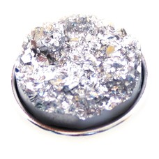 Clicks en Chunks | Click glitter steen wit